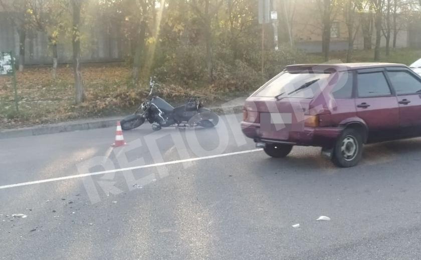 В Днепре мотоциклист сбил пешехода на «зебре»