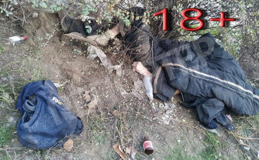 В Днепре на Донецком шоссе обнаружили мертвого бездомного 18+