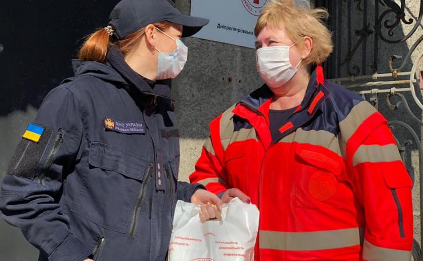Антивирус. Красный Крест помогает спасателям Днепра