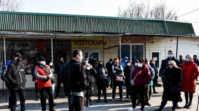 В Павлограде бастующих продавцов рынка будут штрафовать?