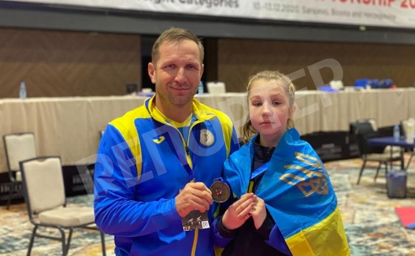 Днепрянка завоевала бронзу на чемпионате Европы по тхэквондо