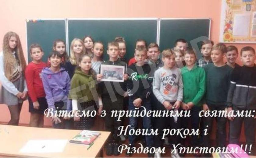 Президента Украины уже поздравили с Новым годом... дети
