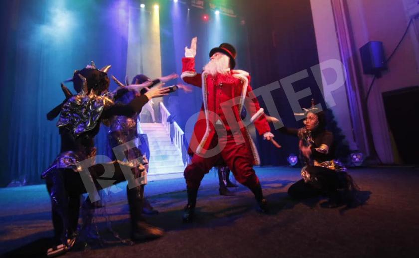 Днепровский театр интригует магией, драйвом и рэпом
