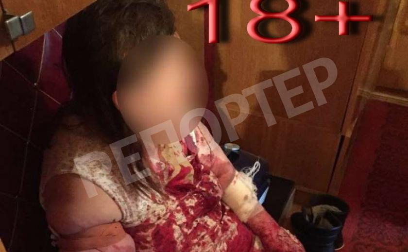 В Днепре дочь едва не угробила маму 18 +