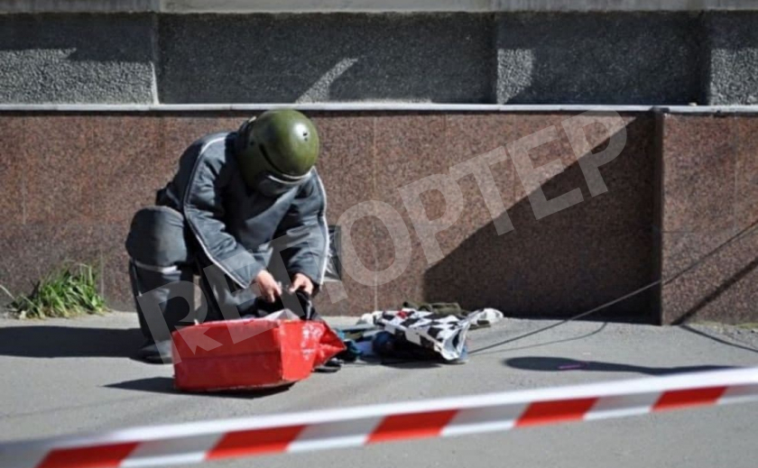 В Днепре пытались взорвать банкомат крупнейшего банка Украины