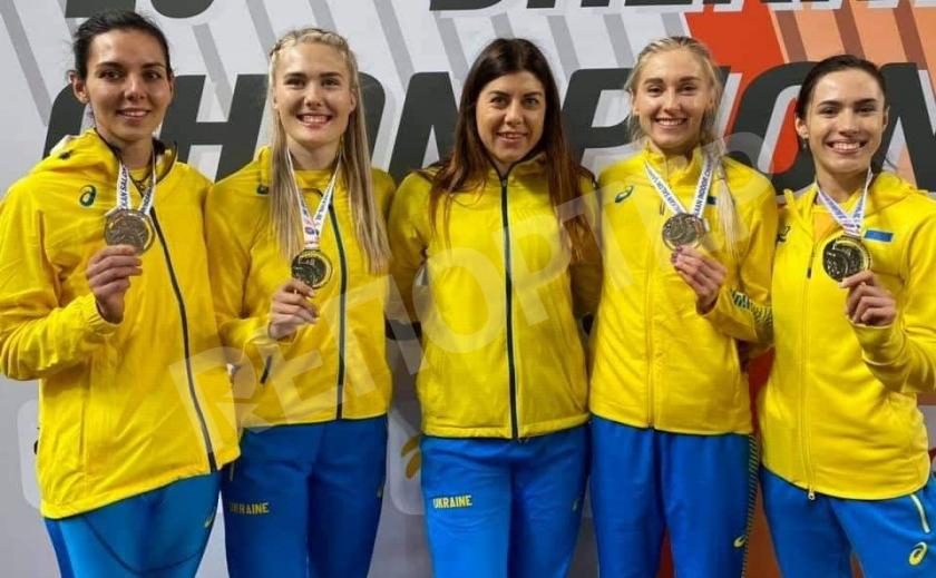 На Чемпионате ABAF в помещении легкоатлеты Днепропетровщины взяли 4 медали
