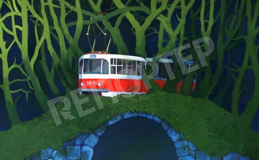 Днепровские трамваи не будут ходить до речпорта