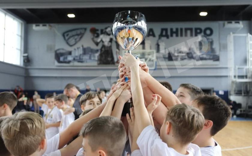Юные баскетболисты Днепра выиграли ВЮБЛ по 2010 г.р.