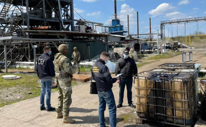 Спецслужба на Днепропетровщине обнаружила подпольный нефтеперерабатывающий завод