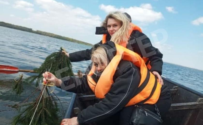 Плотва на Днепровском водохранилище «одобрила» искусственные гнезда