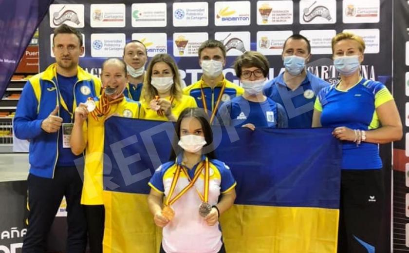 Парабадминтонисты Украины завоевали в Испании 6 медалей