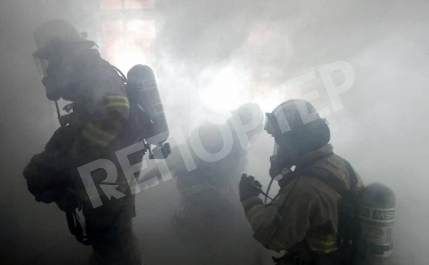 В Днепре горела многоэтажка