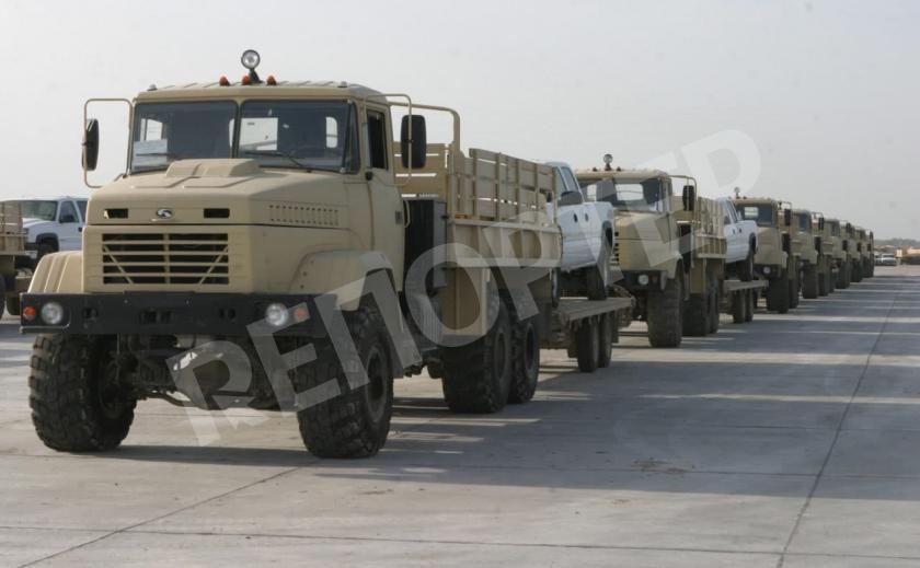 Армия США заказала украинские КрАЗы