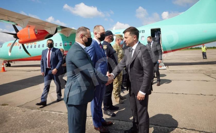 На Днепропетровщину прибыл Президент. Подробности визита