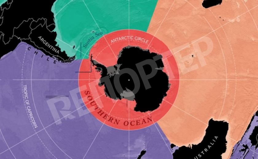 Географы признали пятый океан! Южный океан нанесут на карты