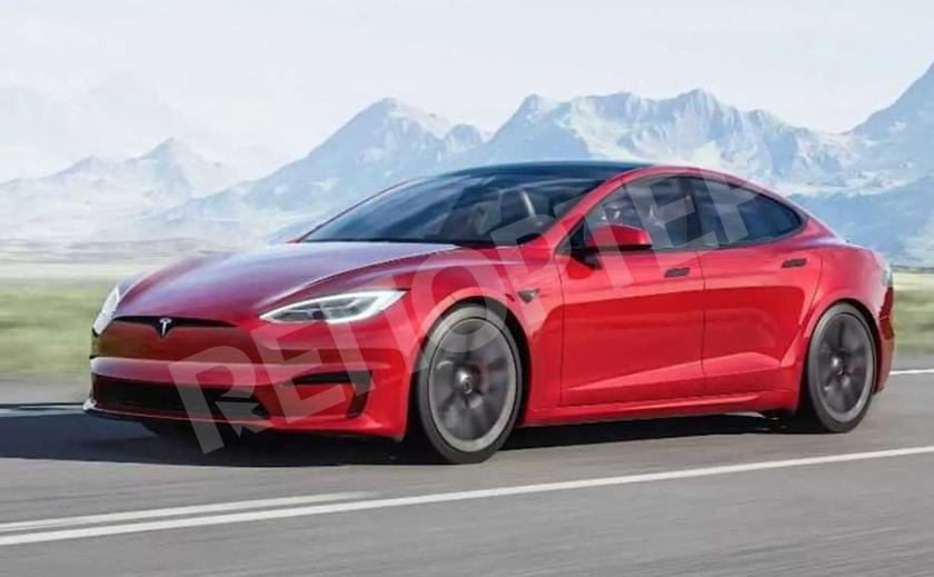 Илон Маск представил самый быстрый электромобиль Tesla Model S Plaid