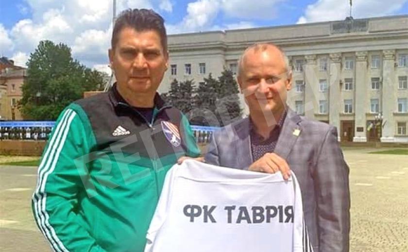 Экс-«днепрянин» Сергей Пучков повторно возглавил симферопольскую «Таврию»