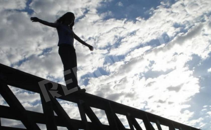 Попытка суицида. В Днепре девушка спрыгнула с Самарского моста