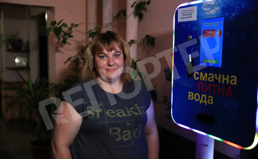В многоэтажках Днепра можно установить автоматы очищенной воды