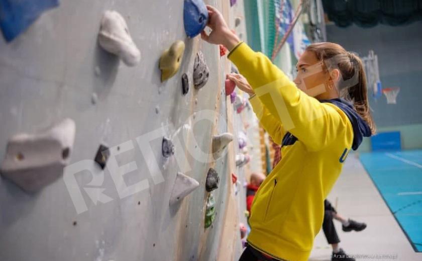 Скалолазка Дарья Ткачева из Днепра завоевала «бронзу» на Молодежном Кубке Европы
