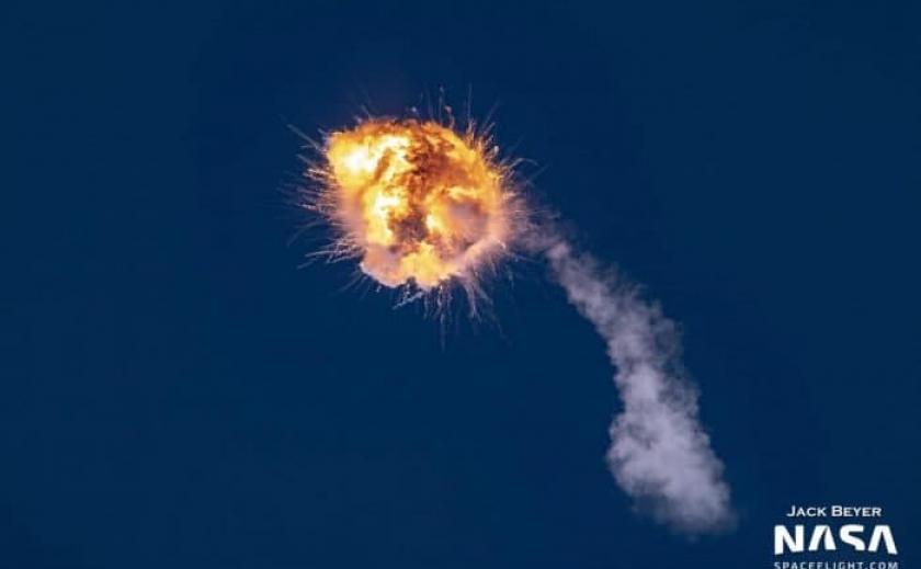 Американо-украинскую ракету Firefly Aerospace пришлось взорвать во время первого полета в космос