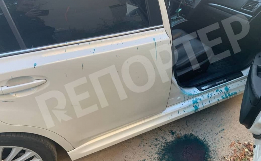 Облили зеленкой и ограбили: в Днепре на сотрудников Апелляционного суда напали неизвестные в балаклавах