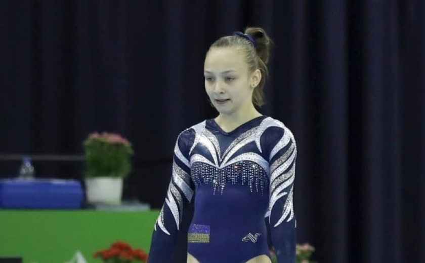 Гимнастка Елизавета Губарева из Днепра завоевала «серебро» на этапе Кубка мира