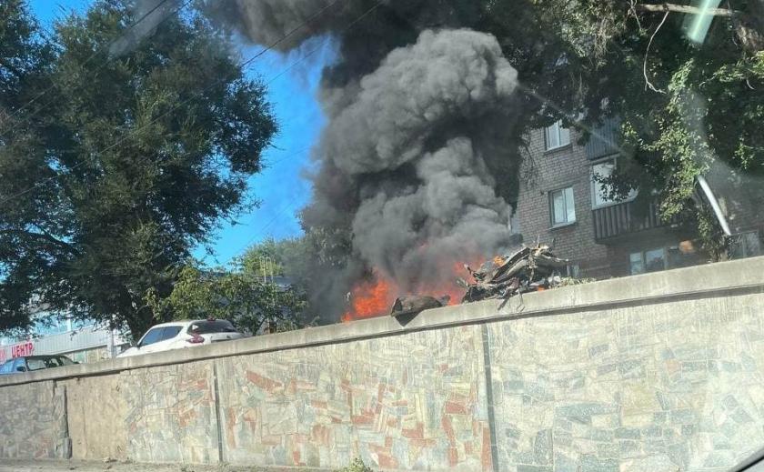 В Днепре взорвался автомобиль: водитель погиб на месте