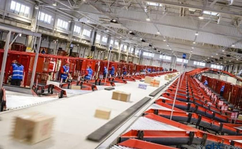«Новая почта» построит терминал в Днепре в кредит
