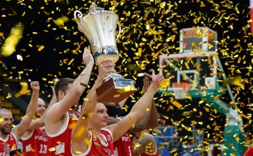 Баскетболисты «Прометея» выиграли Суперкубок Украины