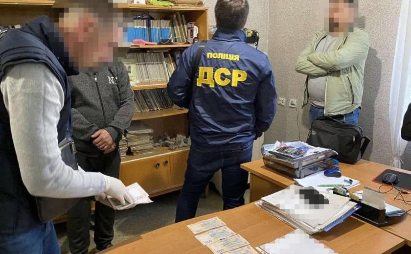 Цена вопроса – 120 тыс. грн: на Днепропетровщине задержали очередного чиновника-коррупционера