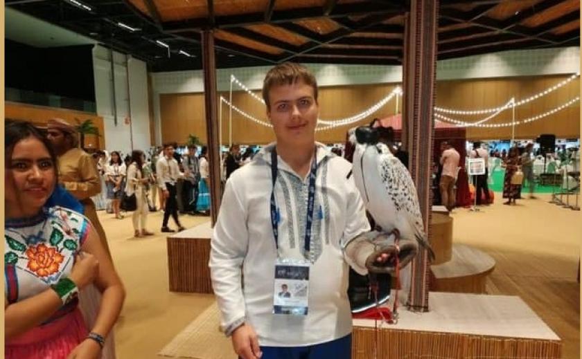 Школьник Виктор Уланов из Днепра выиграл конкурс научных проектов Азиатско-Тихоокеанской конференции