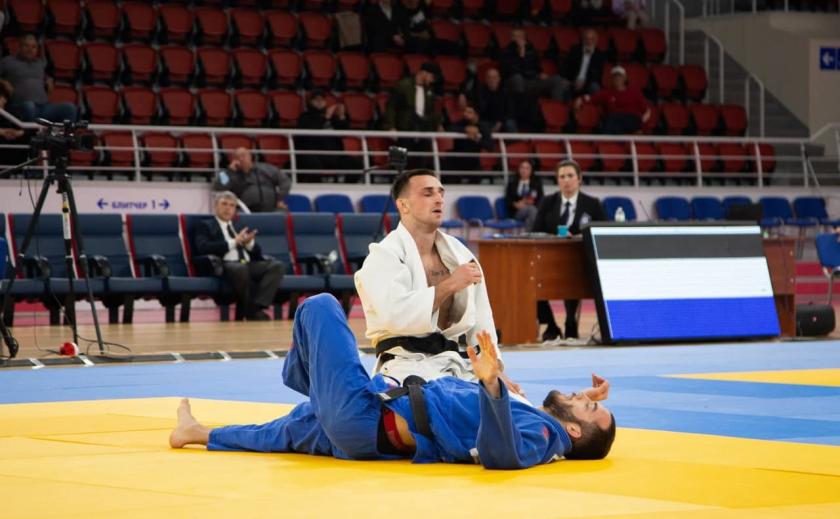 Дзюдоисты Днепропетровщины взяли 5 медалей на чемпионате Украины