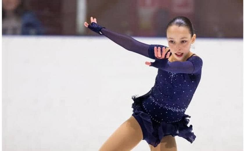 Юные фигуристки из Днепра взяли 3 медали на 1-м этапе Всеукраинских соревнований