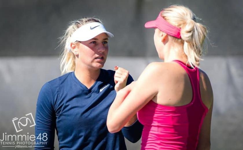 Теннисистка из Днепра Людмила Киченок в паре с Мартой Костюк стали вице-чемпионками турнира WTA на Тенерифе