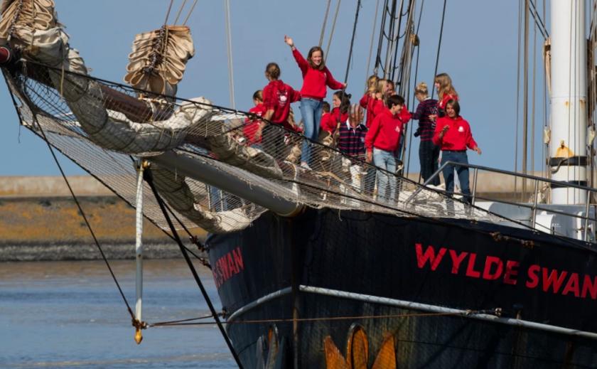 Юные моряки «Дикого лебедя» стали чемпионами мира по адаптации во время пандемии