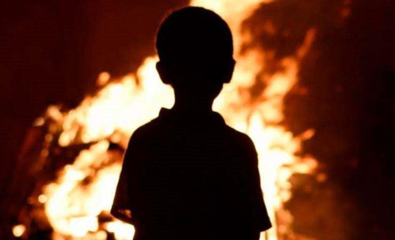 Смертельные шалости. На Днепропетровщине в огне угорел ребенок