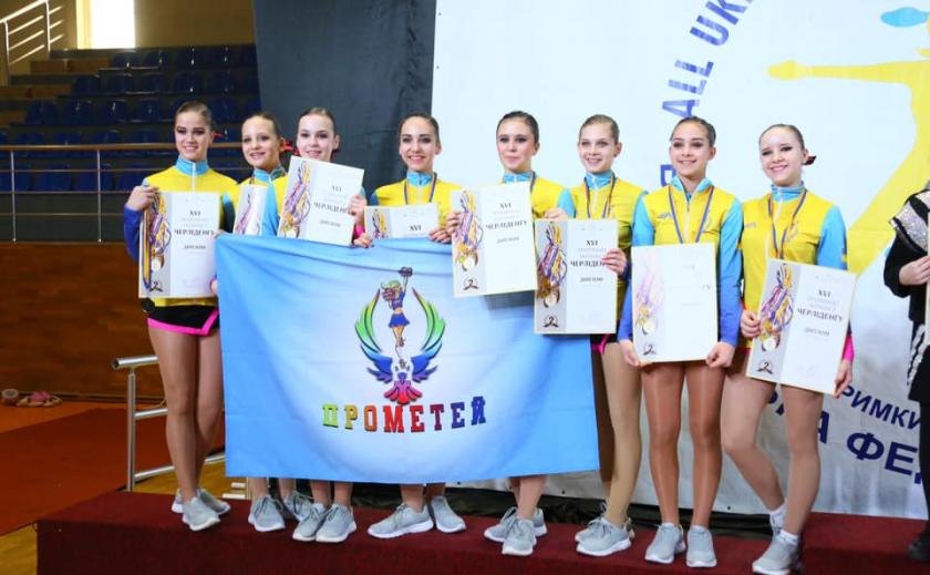 Чирлидерши Днепропетровщины завоевали 21 медаль ФОТО