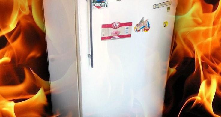В Днепре из-за холодильника сгорела кухня на ул. Холодильной