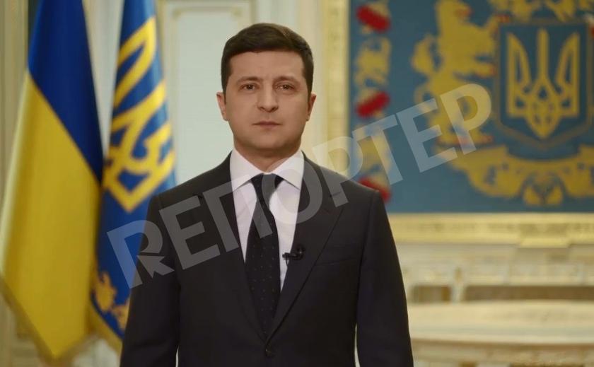 Украинский президент обратился к гражданам
