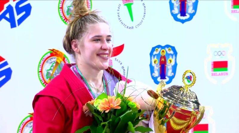 Криворожанка завоевала золото по самбо на Кубке Мира ФОТО