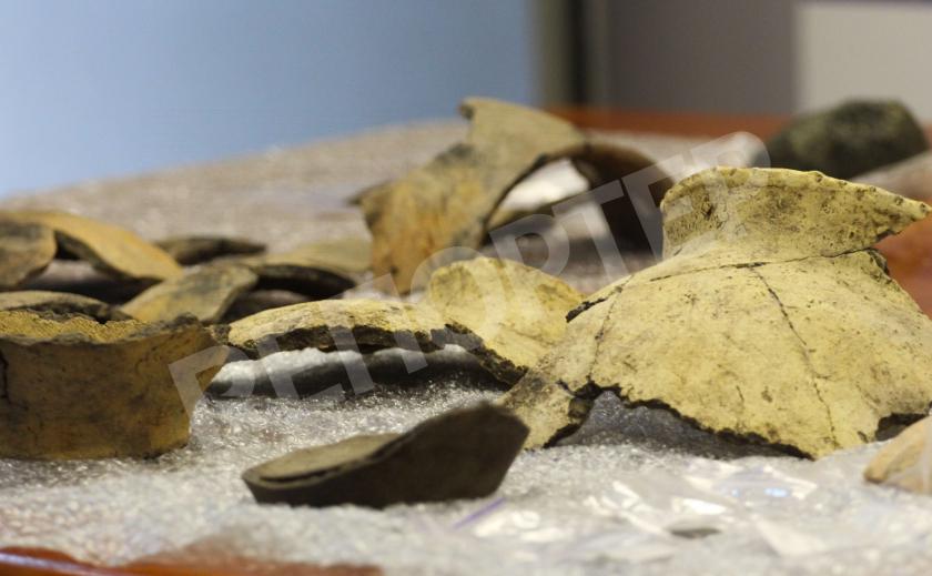 На Решетиловской трассе нашли древние артефакты