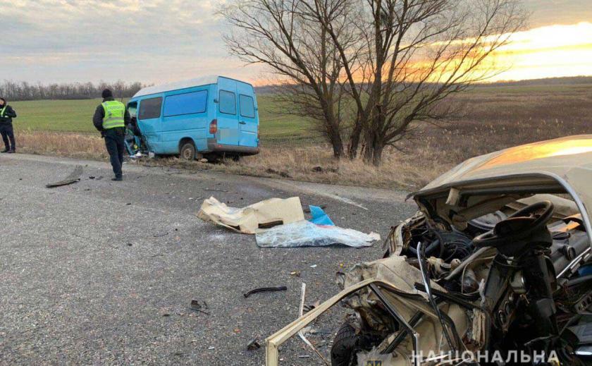 Жуткую аварию на трассе Харьков-Днепр спровоцировал 74-летний дед ФОТО