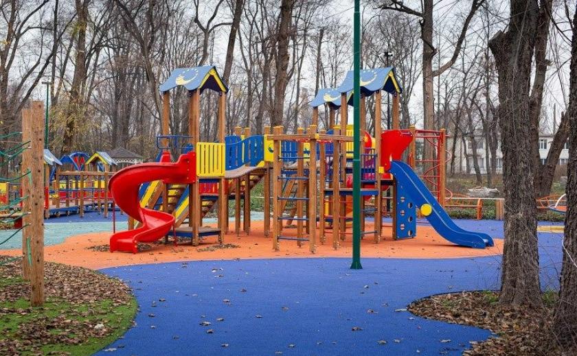 В Синельниково появится новый парк для маломобильных и слабовидящих