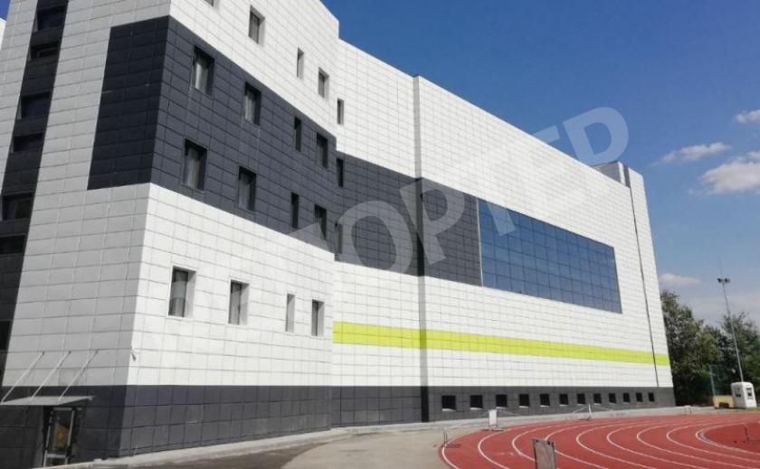 В Днепре завершают строительство крытой арены для олимпийцев