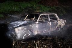 На Днепропетровщине в двух машинах сгорели люди