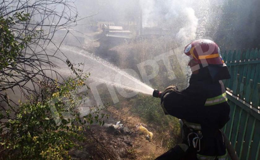 На Днепропетровщине едва не сгорела тушёнка в погребах и не взорвались банки с соленьями