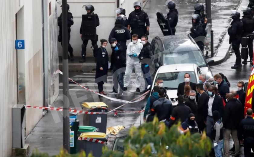 В Париже вблизи редакции еженедельника «Charlie Hebdo» ранены четыре человека