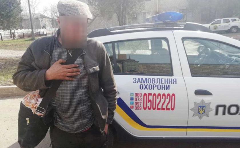 В Никополе задержан похититель можжевельника