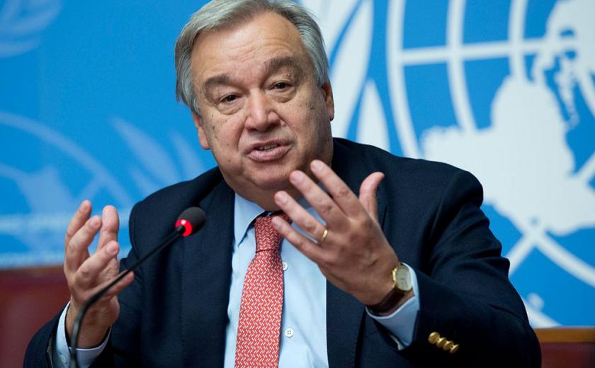 Генсек ООН призвал закончить все войны на планете